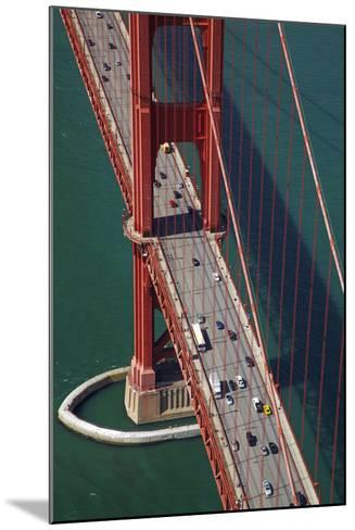 California, San Francisco, Traffic on Golden Gate Bridge-David Wall-Mounted Photographic Print