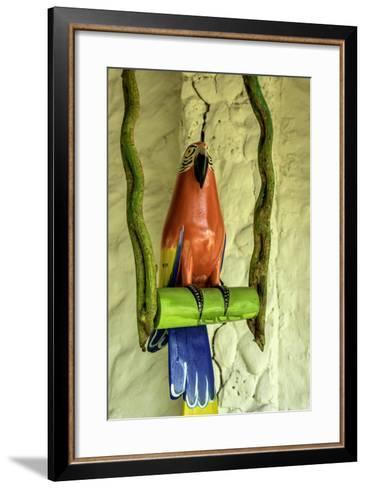 Islas del Rosario, Isla del Encanto, a Tropical Resort, Colombia-Jerry Ginsberg-Framed Art Print