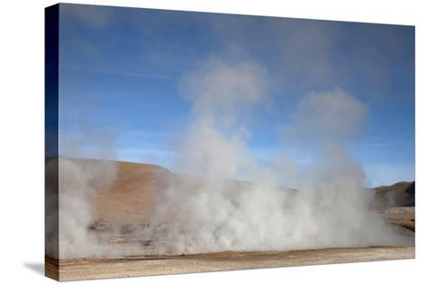 El Tatio Geyser Located in the Andes in Northern Atacama, Chile-Mallorie Ostrowitz-Stretched Canvas Print