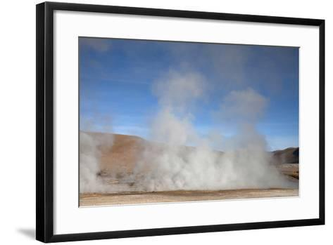El Tatio Geyser Located in the Andes in Northern Atacama, Chile-Mallorie Ostrowitz-Framed Art Print