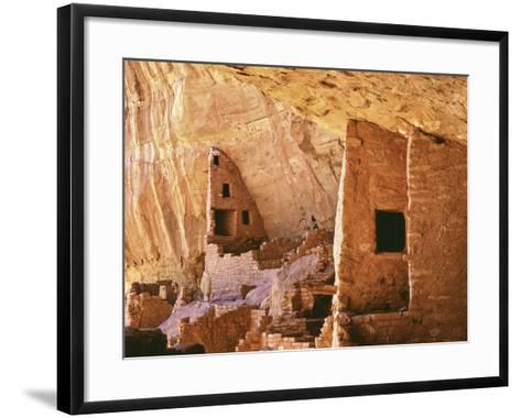 USA, Colorado, Mesa Verde, Long House-John Ford-Framed Art Print