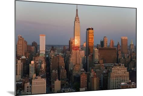 Empire State Building and Midtown Manhattan, New York, USA-Peter Adams-Mounted Photographic Print