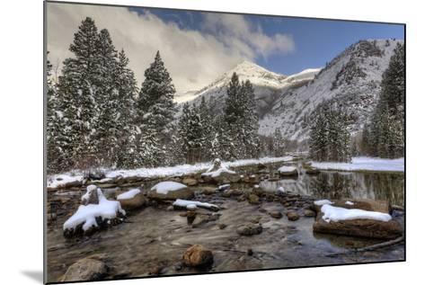 USA, California, Sierra Nevada Range. Spring Snow at North Lake-Dennis Flaherty-Mounted Photographic Print