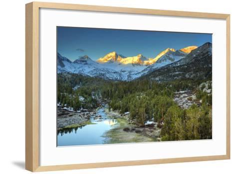USA, California, Sierra Nevada Range. Mack Lake at Sunrise-Dennis Flaherty-Framed Art Print