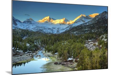 USA, California, Sierra Nevada Range. Mack Lake at Sunrise-Dennis Flaherty-Mounted Photographic Print