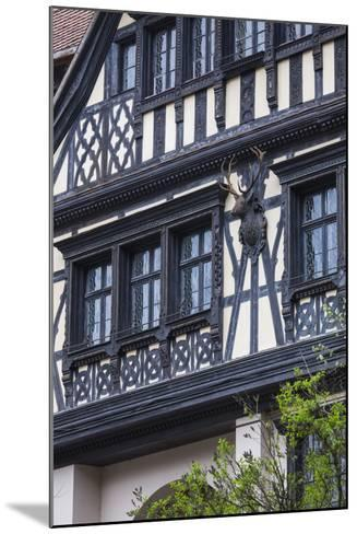 Romania, Transylvania, Sinaia, Peles Castle, Palace Buildings-Walter Bibikow-Mounted Photographic Print