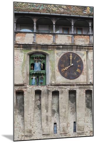 Romania, Transylvania, Sighisoara, Clock Tower, Built in 1280-Walter Bibikow-Mounted Photographic Print