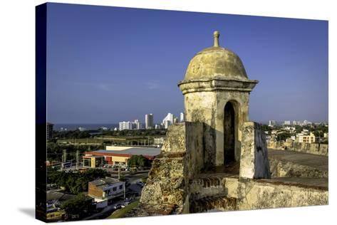 Castillo de San Felipe de Barajas, Cartagena, Colombia-Jerry Ginsberg-Stretched Canvas Print