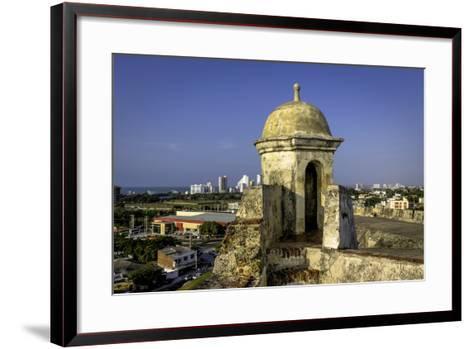 Castillo de San Felipe de Barajas, Cartagena, Colombia-Jerry Ginsberg-Framed Art Print