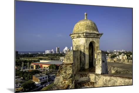 Castillo de San Felipe de Barajas, Cartagena, Colombia-Jerry Ginsberg-Mounted Photographic Print
