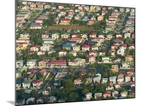 Aerial View of Georgetown, Guyana-Keren Su-Mounted Photographic Print