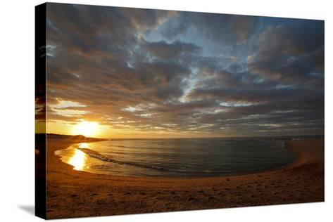 Sunset over Meadow Beach, Cape Cod National Seashore, Massachusetts-Jerry & Marcy Monkman-Stretched Canvas Print