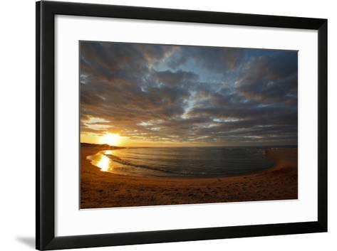 Sunset over Meadow Beach, Cape Cod National Seashore, Massachusetts-Jerry & Marcy Monkman-Framed Art Print