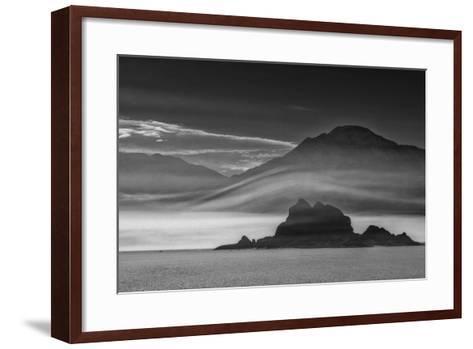 USA, California, Death Valley, Racetrack, Grandstand-John Ford-Framed Art Print