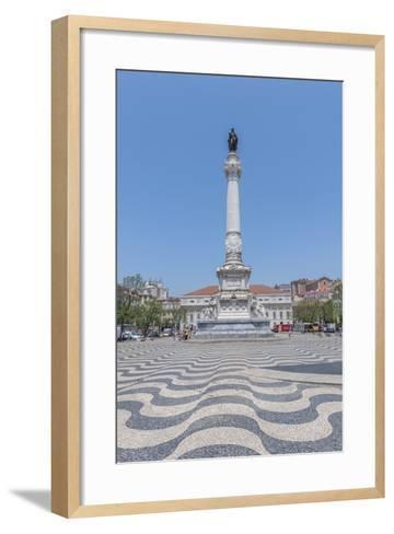 Europe, Portugal, Lisbon, Monument of King Pedro Iv-Lisa S^ Engelbrecht-Framed Art Print
