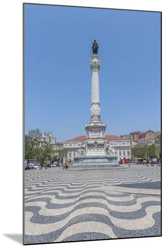 Europe, Portugal, Lisbon, Monument of King Pedro Iv-Lisa S^ Engelbrecht-Mounted Photographic Print