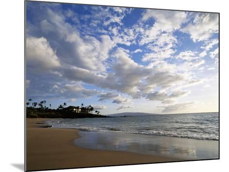 Hawaii Islands, Maui, View of Wailea-Douglas Peebles-Mounted Photographic Print