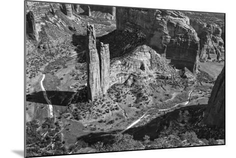 USA, Arizona, Spider Rock, Canyon de Chelly, Band-John Ford-Mounted Photographic Print
