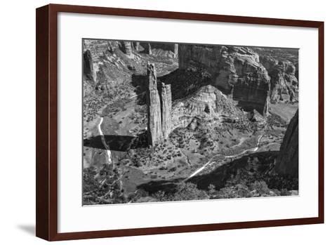 USA, Arizona, Spider Rock, Canyon de Chelly, Band-John Ford-Framed Art Print