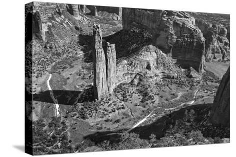 USA, Arizona, Spider Rock, Canyon de Chelly, Band-John Ford-Stretched Canvas Print