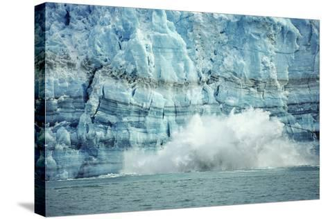 The Hubbard Glacier Is Tidewater Glacier, Tongass NF, Alaska-Howie Garber-Stretched Canvas Print
