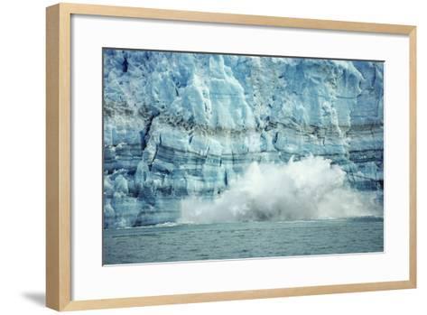 The Hubbard Glacier Is Tidewater Glacier, Tongass NF, Alaska-Howie Garber-Framed Art Print