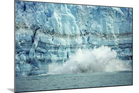 The Hubbard Glacier Is Tidewater Glacier, Tongass NF, Alaska-Howie Garber-Mounted Photographic Print