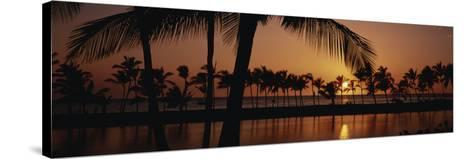 Hawaii Islands, Waikoloa, View of Anaehoomalu Bay-Douglas Peebles-Stretched Canvas Print