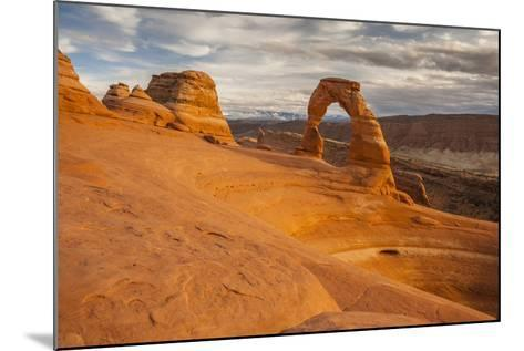 USA, Utah, Arches National Park. Delicate Arch at Sunset-Cathy & Gordon Illg-Mounted Photographic Print