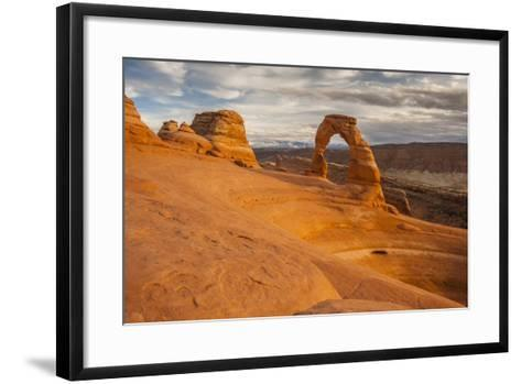 USA, Utah, Arches National Park. Delicate Arch at Sunset-Cathy & Gordon Illg-Framed Art Print