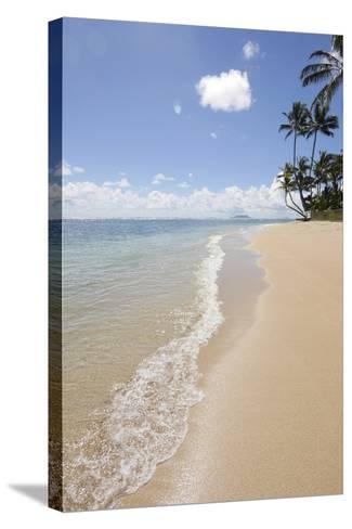 Kaaawa Beach Park, Oahu, Hawaii-Douglas Peebles-Stretched Canvas Print