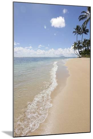 Kaaawa Beach Park, Oahu, Hawaii-Douglas Peebles-Mounted Photographic Print