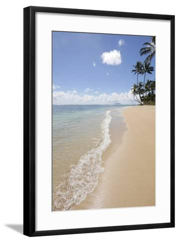 Kaaawa Beach Park, Oahu, Hawaii-Douglas Peebles-Framed Art Print