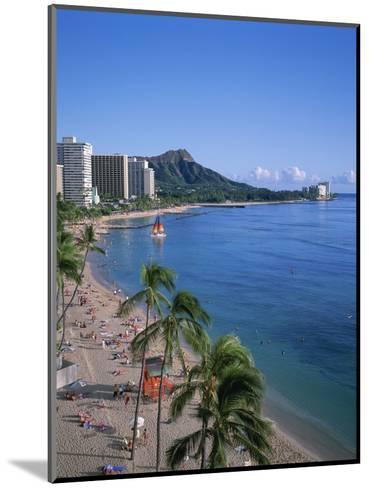 Waikiki, Oahu, Hawaii, USA-Douglas Peebles-Mounted Photographic Print