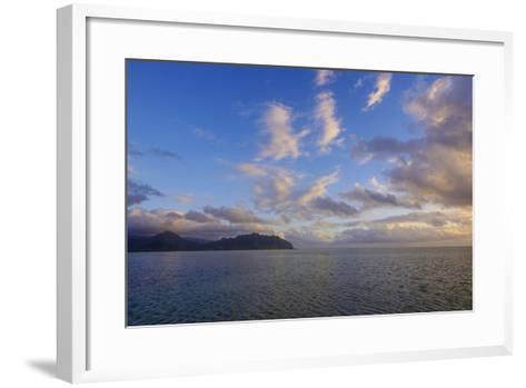 Sandbar, Kaneohe Bay, Oahu, Hawaii-Douglas Peebles-Framed Art Print