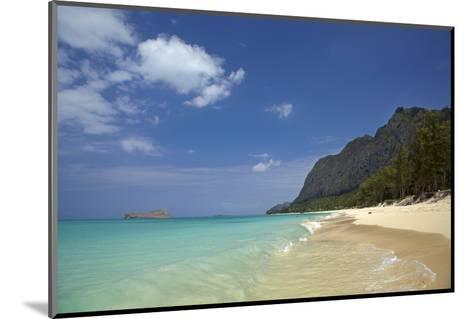 USA, Hawaii, Oahu, Waimanalo Beach-David Wall-Mounted Photographic Print