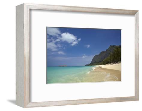 USA, Hawaii, Oahu, Waimanalo Beach-David Wall-Framed Art Print