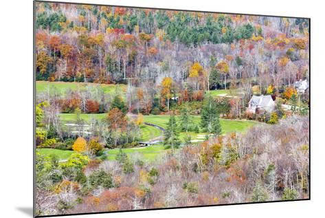 North Carolina, Blue Ridge Parkway, View from Flat Rock Overlook-Jamie & Judy Wild-Mounted Photographic Print