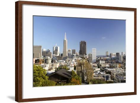 A View from Telegraph Hill, San Francisco, California, USA-Susan Pease-Framed Art Print