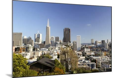 A View from Telegraph Hill, San Francisco, California, USA-Susan Pease-Mounted Photographic Print