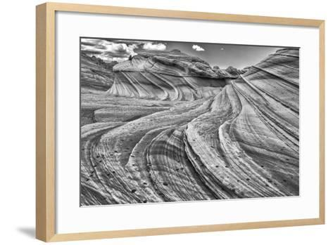 Second Wave Zion National Park Kanab, Utah, USA-John Ford-Framed Art Print