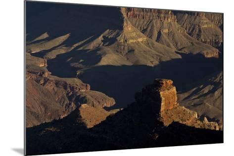 Illuminated Buttes, Pipe Creek Vista, Grand Canyon NP, Arizona-Michel Hersen-Mounted Photographic Print