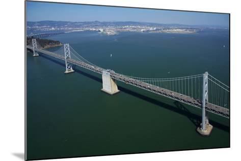 California, Bay Bridge, San Francisco Bay to Yerba Buena Island-David Wall-Mounted Photographic Print