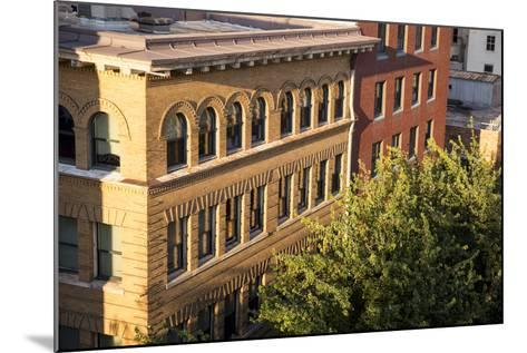 Oregon, Portland. Building Details in Downtown-Brent Bergherm-Mounted Photographic Print