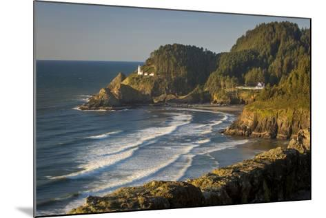 Heceta Head Lighthouse Along the Oregon Coast, USA-Brian Jannsen-Mounted Photographic Print