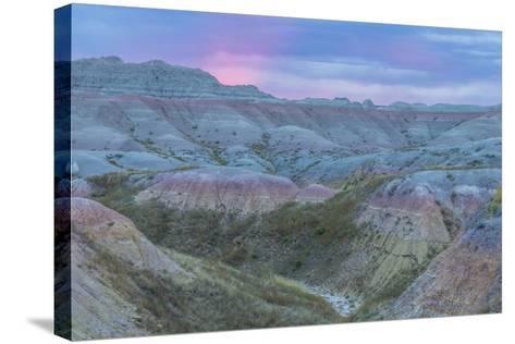 USA, South Dakota, Badlands National Park. Wilderness Landscape-Cathy & Gordon Illg-Stretched Canvas Print