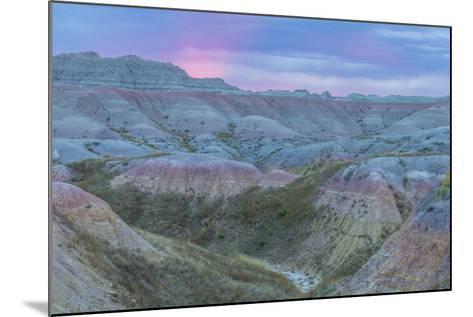 USA, South Dakota, Badlands National Park. Wilderness Landscape-Cathy & Gordon Illg-Mounted Photographic Print