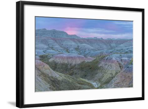 USA, South Dakota, Badlands National Park. Wilderness Landscape-Cathy & Gordon Illg-Framed Art Print