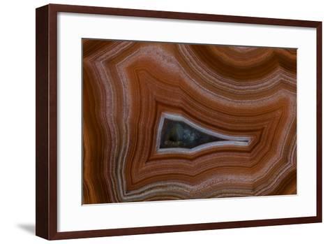 Banded Agate, Sammamish, Washington State-Darrell Gulin-Framed Art Print