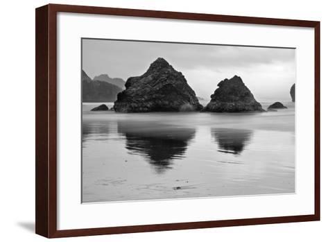 USA, Oregon, Pistol River Outlet-John Ford-Framed Art Print